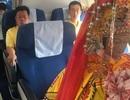 Tượng thần Trung Quốc ngồi máy bay ghế thương gia gây xôn xao