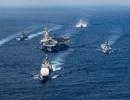 Tàu do thám Nga - Trung bám đuôi tàu sân bay Mỹ gần bán đảo Triều Tiên
