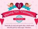11 tục lệ lạ lẫm trong ngày Valentine ở các nước