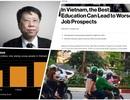 Giáo dục Việt Nam được báo quốc tế đưa tin ra sao trong năm 2017?
