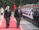 Lãnh đạo Việt Nam - Lào chúc mừng 55 năm 2 nước thiết lập quan hệ ngoại giao