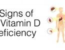 7 dấu hiệu của việc thiếu vitamin D