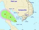 Xuất hiện vùng áp thấp ở vịnh Thái Lan