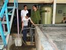 Bắt quả tang doanh nghiệp xả nước thải chưa qua xử lý ra môi trường