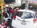 """Vụ ô tô """"ủi"""" 7 xe máy: Người lái xe là Thượng úy công an"""