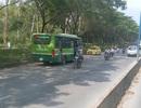 Xác minh thông tin xe buýt đi ngược chiều ở Sài Gòn