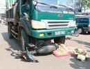 Bị xe tải kéo lê 10 mét trên đường, người đàn ông tử vong tại chỗ