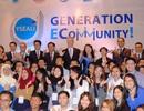 """Các thủ lĩnh trẻ ASEAN """"nhập vai"""" bộ trưởng xây dựng chính sách khu vực"""