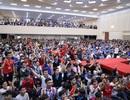 TPHCM: Nhiều trường ĐH tổ chức cho sinh viên cổ vũ Olympic Việt Nam đá bán kết ASIAD 2018