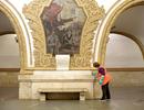 """""""Hơi thở"""" nước Nga bên trong ga tàu điện ngầm đẹp nhất thế giới"""