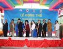 Phó Chủ tịch nước dự lễ xây dựng trường cấp 2 vùng sâu khó khăn