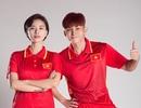 Ngô Thanh Vân tung ảnh mặc áo cầu thủ ủng hộ U23 Việt Nam