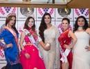 Hoa hậu Đinh Hiền Anh nổi bật giữa cuộc thi Hoa hậu Quốc tế Ấn Độ