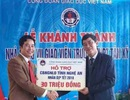 Công Đoàn Giáo dục Việt Nam hỗ trợ 30 triệu đồng cho cán bộ, giáo viên Nghệ An ăn Tết