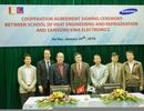 Samsung hợp tác ĐH Bách khoa Hà Nội trong nghiên cứu và đào tạo công nghệ điện lạnh
