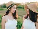 """Cặp chị em sinh đôi """"gây sốt"""" cộng đồng DHS Việt tại Nga vì quá xinh đẹp"""