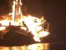 Cháy tàu ở Phú Quốc, thiệt hại khoảng 13 tỉ đồng