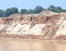 Sạt lở bờ sông Lam, mất đất sản xuất, người dân kêu cứu!