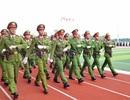 Học viện Cảnh sát nhân dân duyệt binh mừng năm học mới