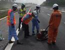 Cao tốc Đà Nẵng - Quảng Ngãi hư hỏng do thi công kém chất lượng!