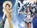 Bùi Phương Nga và mỹ nhân Hoa hậu Hòa bình thế giới 2018 lộng lẫy với trang phục dân tộc