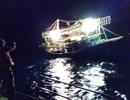 Ứng cứu kịp thời tàu cá cùng 5 ngư dân gặp nạn trên biển