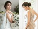 Lan Khuê hé lộ váy cưới lộng lẫy
