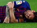 Messi bị gãy tay phải, chắc chắn lỡ hẹn với trận Siêu kinh điển