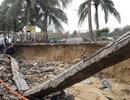 Bờ biển Đà Nẵng sạt lở nghiêm trọng sau cơn mưa lớn