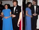 Meghan Markle thanh lịch trong bộ váy xanh
