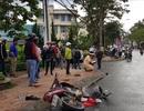 """Ô tô gây tai nạn liên hoàn, """"ủi"""" nhiều người phải nhập viện"""
