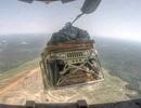 Máy bay vận tải Mỹ thả nhầm xe bọc thép xuống rừng