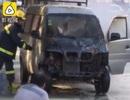 Cháy cả ô tô mới mua chỉ vì thắp hương cầu may