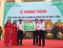 Khánh thành công trình nhà học 2 tầng Trường THCS Diễn Hạnh
