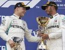 """Bottas chủ động """"nhường"""" chiến thắng chặng Sochi cho Hamilton"""
