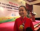 Việt Nam đã định danh được chính xác tác nhân ngộ độc, không phải gửi đi quốc tế