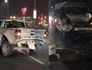 Lái xe bán tải tử vong khi dừng giữa cầu Nhật Tân để khắc phục sự cố
