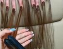 Gắn tóc cho móng tay - xu hướng làm đẹp kinh dị khiến nhiều người lạnh gáy