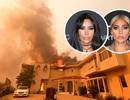 Kim Kardashian và Lady Gaga phải sơ tán vì sợ cháy nhà