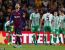 Messi lập cú đúp, Barcelona vẫn thua sốc Betis