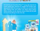 Ra mắt thị trường Cô Gái Hà Lan Cao Khoẻ Plus+ dạng bột và hộp pha sẵn