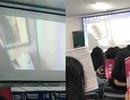 Thầy giáo vô tình chiếu phim sex khi đang thuyết trình bằng slide
