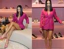Adriana Lima khoe chân thon dài