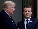 """Pháp chỉ trích Tổng thống Trump """"thiếu lịch sự"""""""