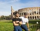 Quốc Cơ – Quốc Nghiệp thăm thú thành Rome trước khi lập kỷ lục thế giới