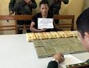 Bắt đối tượng vận chuyển 12 bánh heroin và 40.000 viên ma tuý tổng hợp