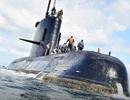 Argentina không thể trục vớt tàu ngầm bị đắm