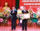 Hiệu trưởng Trường ĐH Vinh đón nhận Huân chương Lao động hạng Nhì