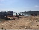 Phục kích bắt 3 xe tải chở hơn 40 khối gỗ lậu bằng sà lan trên bến Sê San