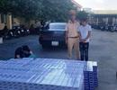 CSGT tóm gọn xế hộp chở 1.250 cây thuốc lá ngoại không giấy tờ
